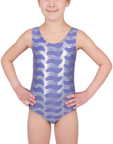 Danskin Dusted Periwinkle Sparkle Leotard - Girls