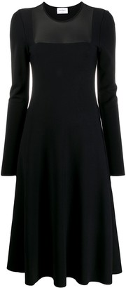 Salvatore Ferragamo Fit-And-Flare Dress