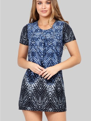 M&Co Izabel tribal print shift dress