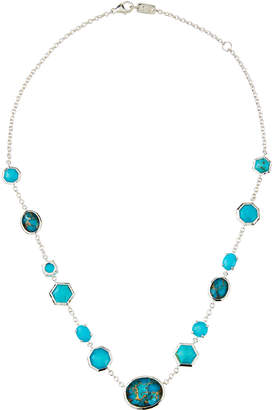Ippolita Rock Candy Mixed-Stone Necklace in Turquoise