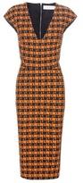 Victoria Beckham Jacquard Wool-blend Dress