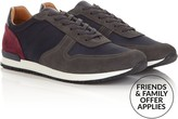 Whistles Men's Leather Mix Runner Trainers
