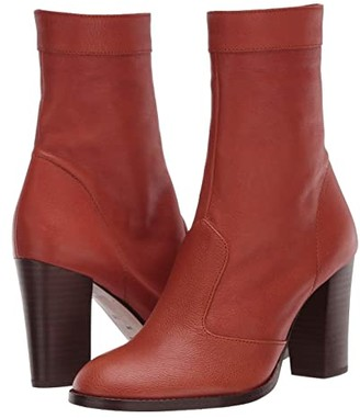 Marc Jacobs Sofia Loves The Ankle Boot 85 mm (Whiskey) Women's Shoes