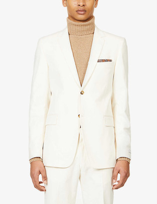Tiger of Sweden Single-breasted stretch-cotton blazer