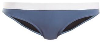 Rochelle Sara The Bridges Low-rise Bikini Briefs - Womens - Blue