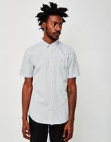 Farah Sydling Short Sleeve Striped Shirt Blue