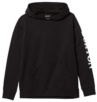 Burton Elite Pullover Hoodie (Little Kids/Big Kids) (True Black 1) Kid's Clothing