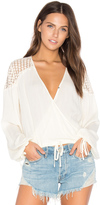 Somedays Lovin Eldora Cropped Blouse