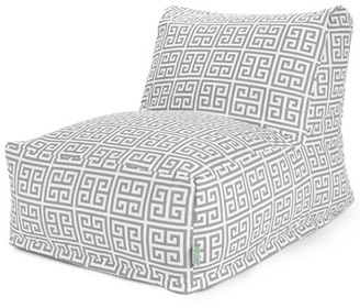 Majestic Home Goods Indoor Outdoor Pacific Towers Chair Lounger Bean Bag 36 in L x 27 in W x 24 in H