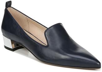 Franco Sarto Vianna Leather Block Heel Loafer