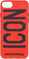 DSQUARED2 Icon phone case - men - rubber - One Size