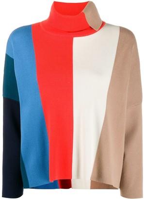 Victoria Victoria Beckham block stripe jumper