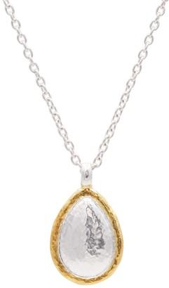 Gurhan 24kt gold Amulet pendant necklace