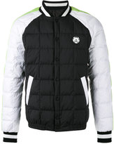 Kenzo quilted bomber jacket - men - Polyester/Duck Feathers/Feather - S
