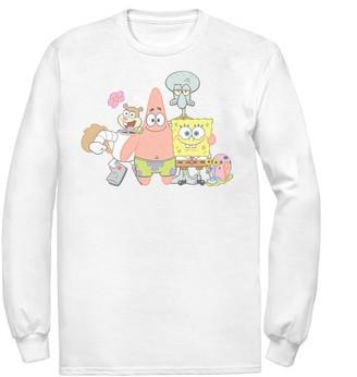 Nickelodeon Men's SpongeBob SquarePants Classic Group Shot Tee