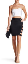 Wow Couture Side Strap Detail Skirt