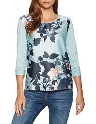 Gerry Weber Women's T-Shirt 1/1 Arm Long Sleeve Top,(Size: 42)