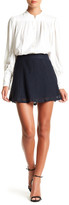 David Lerner Bowery Knit Lace A-Line Skirt