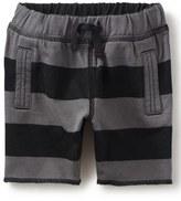 Tea Collection Stripe Knit Short (Baby Boys)