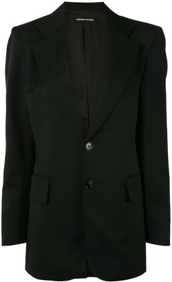 Kwaidan Editions Notched-Lapel Single Breasted Blazer