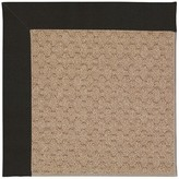 Zeppelin Machine Tufted Ebony/Brown Indoor/Outdoor Area Rug Longshore Tides Rug Size: Rectangle 9' x 12'
