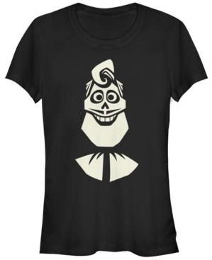 Fifth Sun Disney Pixar Women's Coco Ernesto Face Halloween Short Sleeve Tee Shirt