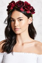 Forever 21 Floral Crown Headwrap