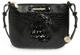 Brahmin Melbourne Tara Leather Crossbody Bag - Black