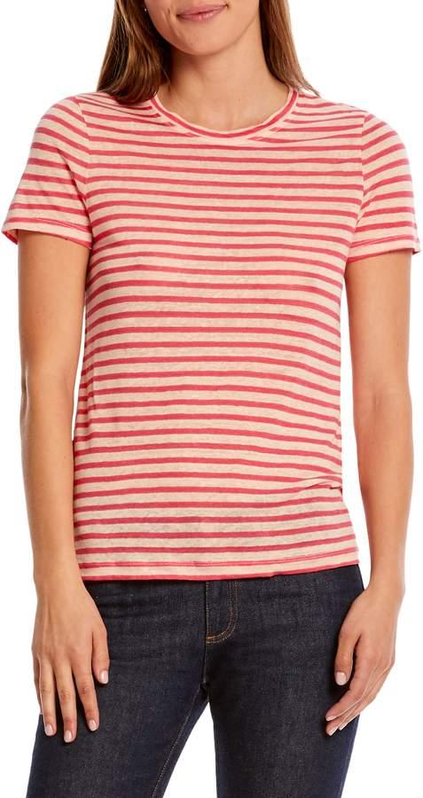 7172e5bb88 Womens Pink Striped Shirt - ShopStyle