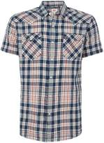 Levi's Men's Barstow western checked short-sleeve shirt