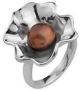 ING Hagit Gorali Cultured Freshwater Pearl Ruffle R ing, Sterling