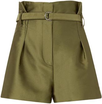 3.1 Phillip Lim Satin Origami Shorts