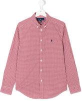 Ralph Lauren classic checked shirt
