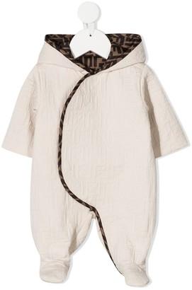 Fendi Kids FF logo lining pyjamas