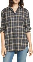 Jenni Kayne Plaid Flannel Shirt