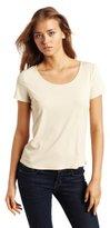 Notations Women's Basic Round Neck T-Shirt