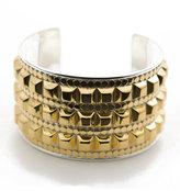 Studded Gold Bold Cuff