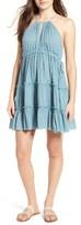 Sun & Shadow Women's Halter Dress