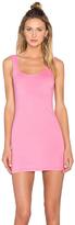Bobi Light Weight Jersey Open Back Sleeveless Mini Dress