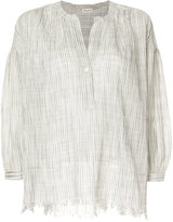 Masscob distressed floaty blouse