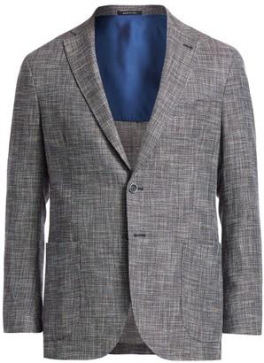 Saks Fifth Avenue COLLECTION Multicolor Tweed Sportcoat