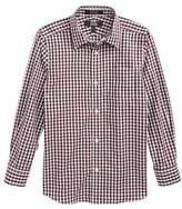 Nordstrom Boy's Plaid Dress Shirt