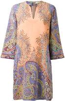 Etro paisley print kaftan - women - Silk - 42