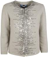 Blumarine Sequined Fitted Jacket