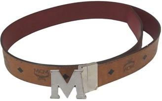 MCM Camel Leather Belts