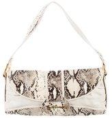 Just Cavalli Embossed Shoulder Bag