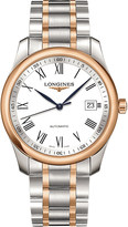 Longines L2.793.5.11.7 Master stainless steel and rose gold watch