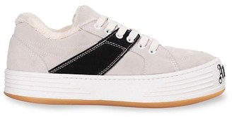 Palm Angels Colorblock Suede Sneakers