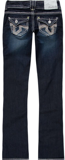 Hydraulic Bailey Womens Slim Bootcut Jeans