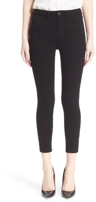L'Agence 'Claudine' Skinny Ankle Jeans